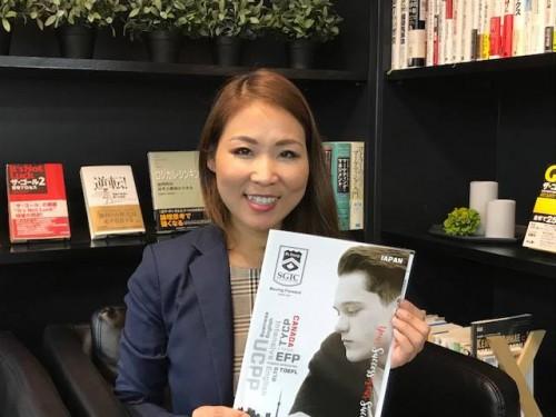 SGICの田村さん。しっかりサポートしてもらえます