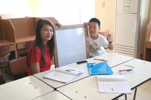 写真はフィリピンの英語学校です
